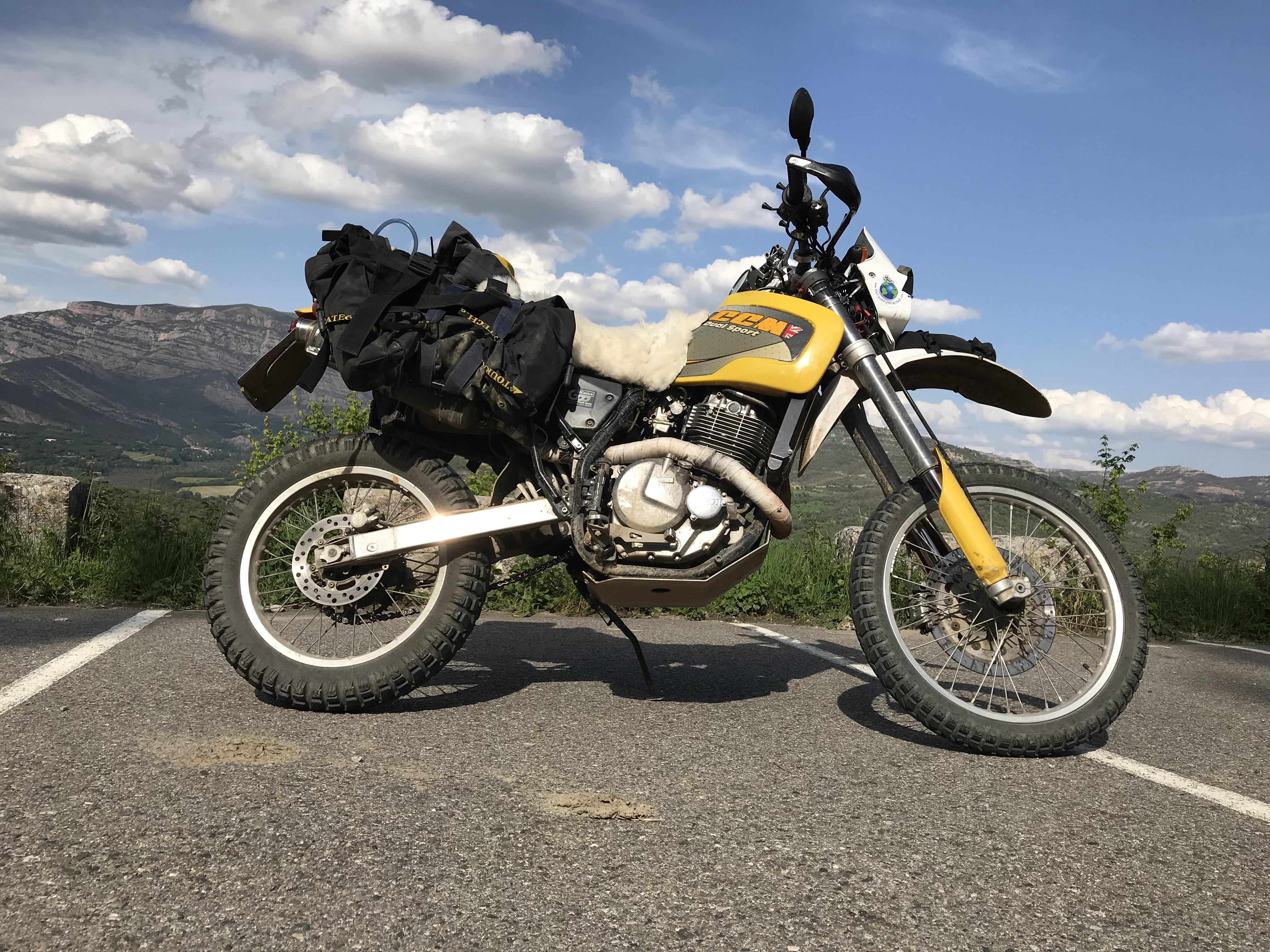 Endurowandern Und Motorradreisen